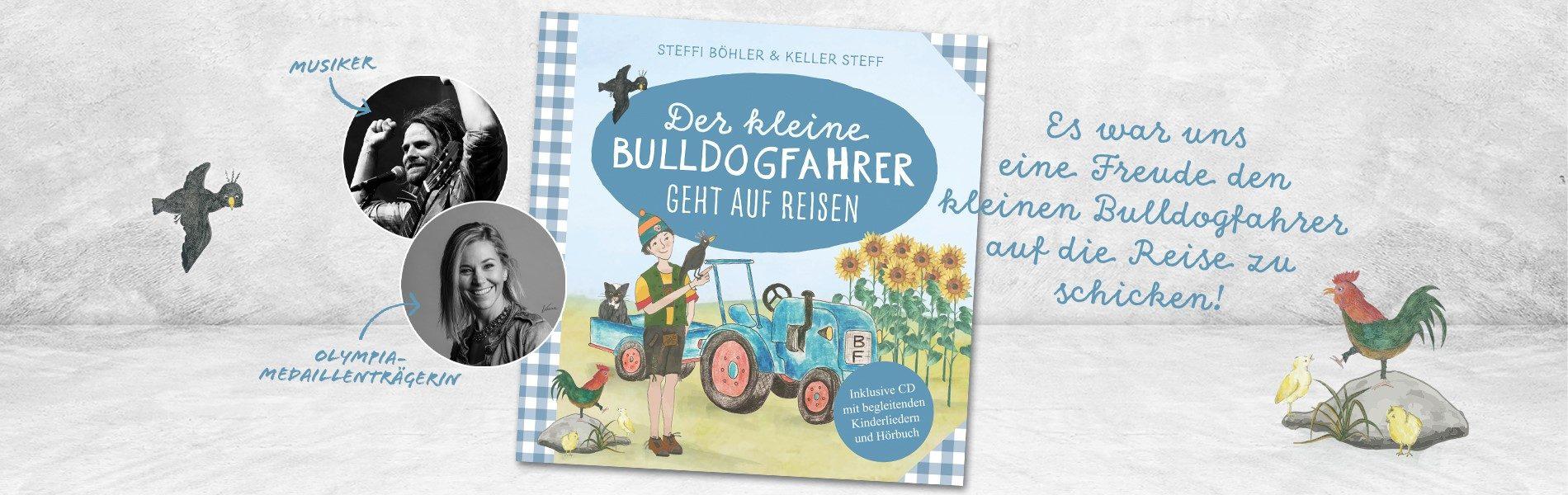 Kinder Buch der kleine Bulldogfaher geht auf Reisen