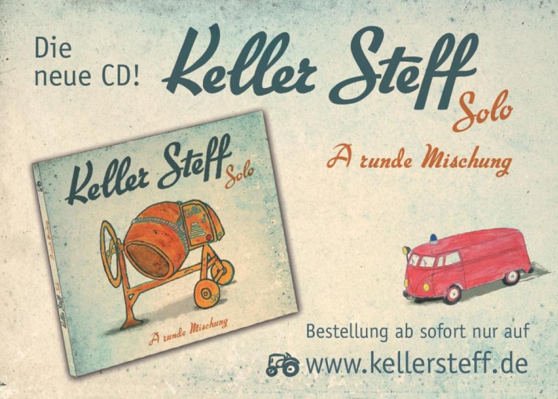 Neue CD - Keller Steff - A runde Mischung